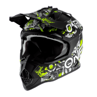 CASCO INFANTIL CROSS 2SRS ATTACK NEGRO