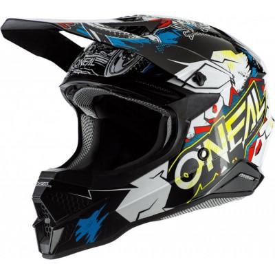 O´neal 3SRS Helmet Villain 2.0 White (blanco)