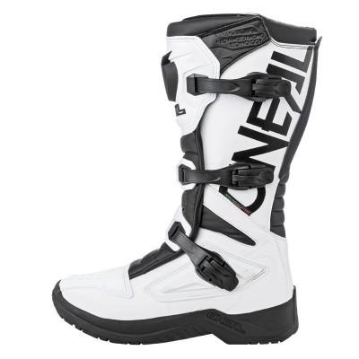 Botas motocross O´neal RSX Boot BLANCA Y NEGRA 2020