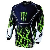 CAMISETA MONSTER ADULTO RICKY DIETRICH 2011 REPLICA