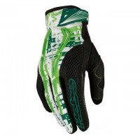 GUANTES CROSS HEBO PHENIX VERDE/BLANCO