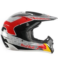 CASCO RED BULL RB COMPETITION CON NEGRO Y ROJO