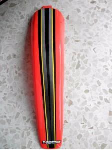 GUARDABARRO TRASERO GAS GAS TXT 2001 COLOR ROJO