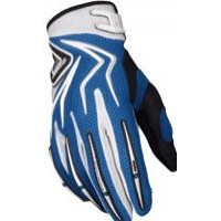 GUANTES CROSS HEBO SCRATCH 03 AZUL
