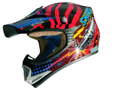 CASCO INFANTIL CROSS MX-306 ROCKID KIDS