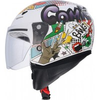CASCO JET NIÑO SHIRO SH-20 COMIC KIDS II