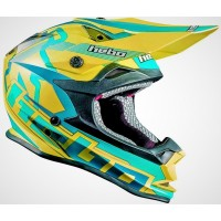 CASCO HEBO CROSS VERDE