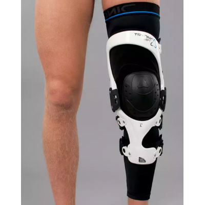 Rodillera Revit Tryonic Knee Brace T6 Blanca-Negra