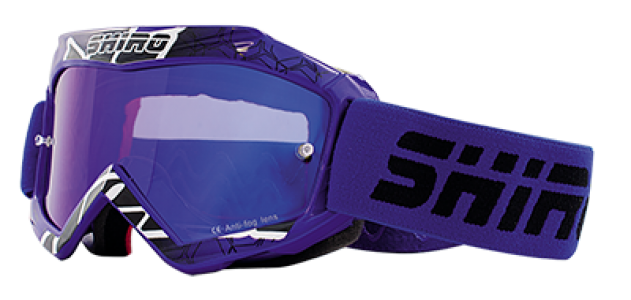 Gafas cross infantil Shiro azul- MX-904 KIDS