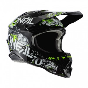 Casco cross serie 3 O'Neal Attack 2.0 Adulto