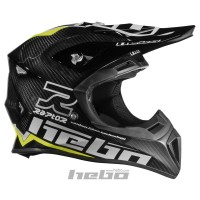 Casco enduro RAPTOR CARBON amarillo