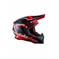 CASCO MOTOCROSS CARBONO HEBO MX LEGEND