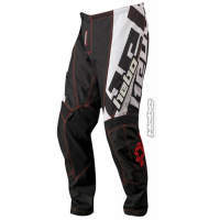PANTALON ENDURO/CROSS COLOR NEGRO Y BLANCO HEBO PHENIX