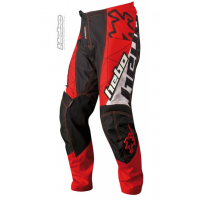 PANTALON ENDURO/CROSS COLOR NEGRO Y ROJO HEBO SWAY